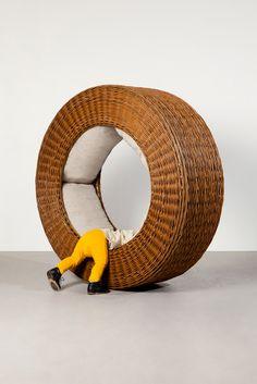 Rocking wheel by Akatre, 2015