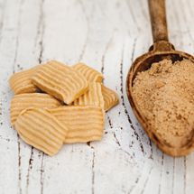 Brown Sugar Meringue Crisps Brown sugar gives these meringue-style ...