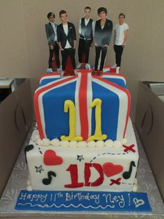 I want this cake so bad for my birthday! I wouldn't put the prop up though.. But still AMAZING!!!!