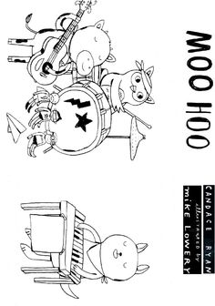 Candace Ryan's ANIMAL HOUSE Coloring-Activity Sheet #2