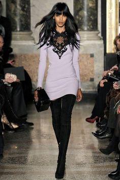 Emilio Pucci FW 2013 / 2014 #MFW Milan Fashion week . Purple Pastel