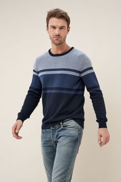 Sweater Jacket, Men Sweater, Men Cardigan, Stylish Men, Men Casual, Cotton Sweater, Stripes Design, Mannequin, Pulls