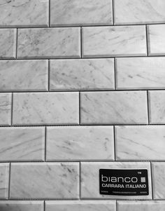 Our Beautiful Timeless Bianco Carrara Subway Marble Tile Is Imported Directly From Italy