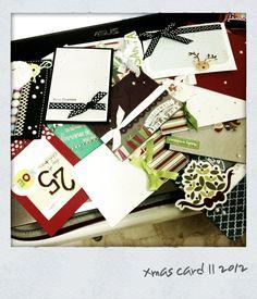 2nd round of 2012 xmas cards