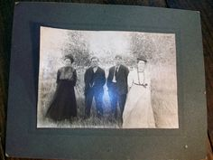 Vintage Photograph 2 Couples Women Wearing Bowlers by RedRiverAntiques, $16.00