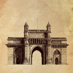 Big Ben, Taj Mahal, Louvre, India, Heart, Building, Travel, Delhi India, Buildings