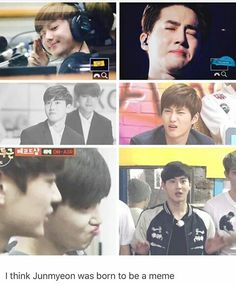 Thousand faces of suho