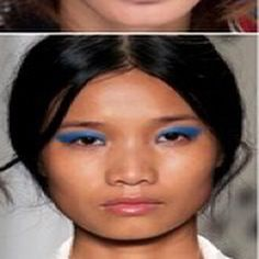 """#InspiringLookoftheDay, well looks, """"Breaking Blue"""" #eyes off the #runway @InStyle #makeup 1/2 off July! Join today at theglamcase.com!"""