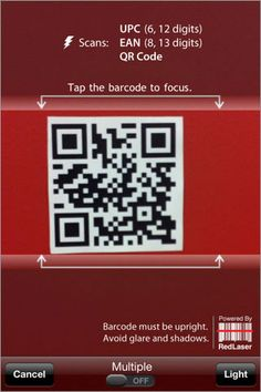 RedLaser - Barcode Scanner and QR Code Reader