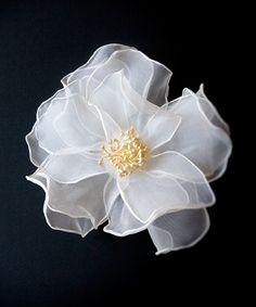 Organza flower :)