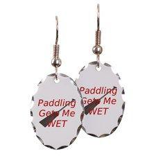 PaddlingGetsMeWet Earring
