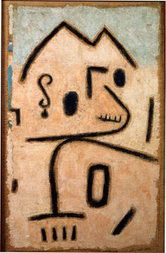 kafkasapartment: Tiermonument (aka Monument to an Animal) 1938. Paul Klee. Oil on canvas