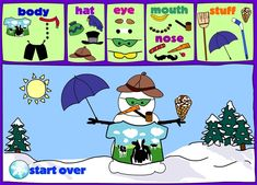 """Virtual Snowmen. Construye tu muñeco de nieve"""