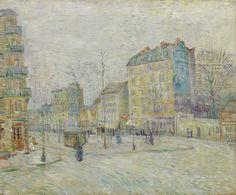 Vincent van Gogh (Dutch, 1853-1890) Boulevard de Clichy, 1887 Oil o on canvas
