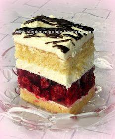 Baking Recipes, Cake Recipes, Good Food, Yummy Food, Raspberry Cake, Polish Recipes, Mini Cakes, Food And Drink, Tasty