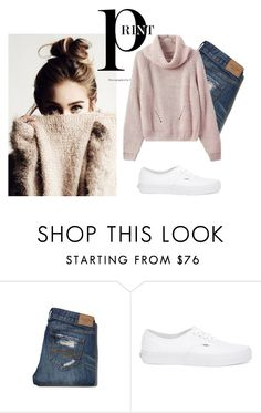 """""""Casual Care"""" by themodernalice on Polyvore featuring Abercrombie & Fitch, Vans and modern"""