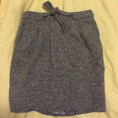 J crew skirt This is a wool skirt from j crew. Worn 2 times! J. Crew Skirts Mini
