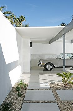 52 ideas modern landscape architecture palm springs for 2019 Palm Springs Mid Century Modern, Mid Century Modern Decor, Mid Century Modern Furniture, Mid Century Design, Midcentury Modern, Palm Springs Houses, Palm Springs Style, Spring Architecture, Architecture Details