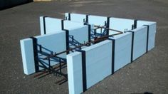 The Foothold ICF Footing System - Angle