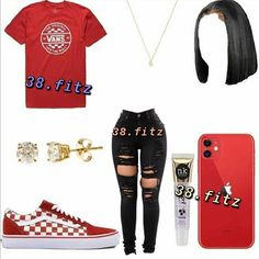 """𝙳𝙼 """"💉"""" 𝚃𝙾 𝙹𝙾𝙸𝙽 𝙾𝚄𝚁 𝙶𝙰𝙸𝙽 𝙶𝙲 on Instagram: """"F//@38.fitz  for more🦋 - -tags  #l4l #explorepage #schoolfit"""" How To Wear Vans, Van Wall, Baddie, Gain, Outfits, Instagram, Fashion, Moda, Suits"""