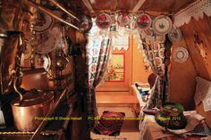 Image result for narrowboat interior traditional