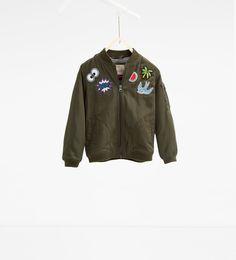 Bomber jacket-JACKETS-GIRL | 4-14 years-KIDS | ZARA United States
