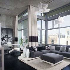 Living Room Grey And White Design, Pictures, Remodel, Decor and Ideas