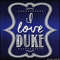 I Love Duke By Carmel Hall