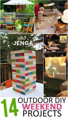 14 Outdoor DIY Weekend Projects