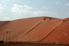 Tal Moreeb - highest dune in the world