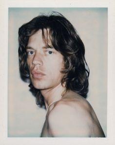 Mick Jagger: Andy Warhol polaroid