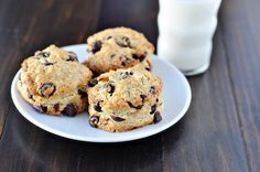 Chocolate Chip Scones by Courtney | Cook Like a Champion, via Flickr