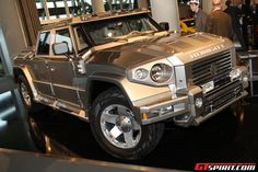 I like shiny things like the Dartz Kombat T98 Russian-made Luxury SUV