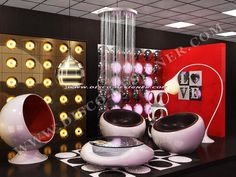 Nightclub and Bar LED Furniture online store for LED Disco Ball Table, Nightclub Furniture Decor and Designs- unique nightclub design ideas. Futuristic Interior, Futuristic Furniture, Futuristic Design, Retro Interior Design, Retro Design, Funky Furniture, Vintage Furniture, Furniture Ads, Furniture Dolly