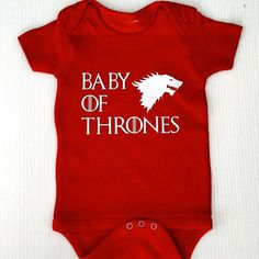 House Lannister Casterly Rock Infant Gerber Onesies Bodysuit Game of Thrones
