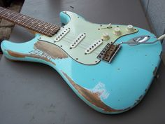 Vintage 1961 Fender Stratocaster Custom Shop Super Relic 60 61 62 USA Aged