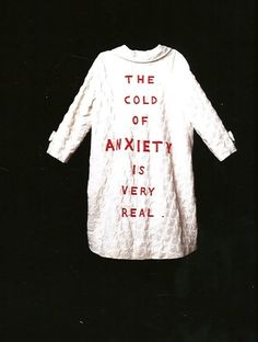 Louise Bourgeois, She Lost It [performance piece] 1992