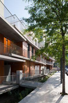 Le bois habité,  Lille, France by Philippe Dubus Architecture