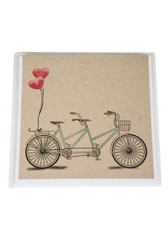 All rights reserved. Tandem Bicycle, Greeting Cards, Studio, Design, Studios, Tandem Bikes, Tandem