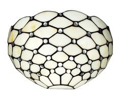 Amora Lighting Tiffany Style White Wall Sconce Lamp - Overstock™ Shopping - Great Deals on Amora Lighting Tiffany Style Lighting Ikea Wall, Wall Lights, Ceiling Lights, Modern Wall Sconces, White Stain, Light Bulb Types, Modern Rustic Interiors, Wall Sconce Lighting, Hallway Lighting