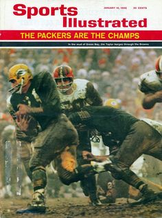 c8faae1d7 1965 NFL Championship  Packers vs Browns Go Packers