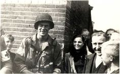 """David Kenyon Webster - Eindhoven September 1944 <3 """"Stop worrying about me joining the parachutist to fight, I intend to fight. If necessary, I shall die fighting but don't worry about this because no war can be won without young men dying. Those things which are precious are saved only by sacrifice."""" - Webster in a letter to his mother p.55 Band of Brothers by Stephen Ambrose"""
