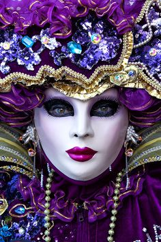 Venetian masks make for beautiful costume pieces in The Servant of Two Masters
