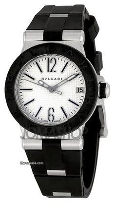 Bulgari Diagono Ladies Quartz Steel DG29C6SVD $2,550 #Bulgari #watch #watches #chronograph 29mm