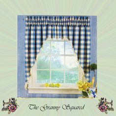 Window Treatments by Simplicity Home; Valence, Drapery Panels, Café Curtains, Swags and Festoons, Simplicity Sewing Pattern 7256 by TheGrannySquared on Etsy