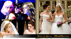 Filme NOIVAS EM GUERRA – Emma (Anne Hathaway) e Liv (Kate Hudson)