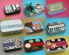 70 Great Small Tin Ideas Images Altered Tins Altoids Tins Tin Boxes