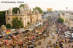 Hyderabad, India Top 5 travel destinations for 2015 by National Geogrphic