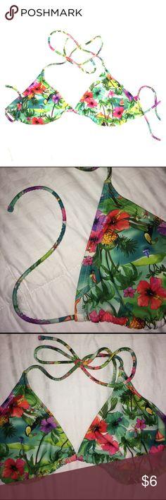 Tropical bikini top Cute tropical bikini top. Swim
