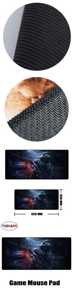 TUSKARR Mouse Pad Counter-Strike: Global Offensive CS GO Over watch Extended SPEED Soft Gaming Mouse Mat 03
